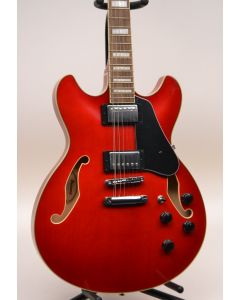 Ibanez Artcore AS7312TCD 12-String Semi-Hollow Electric Guitar Transparent Red TGF11
