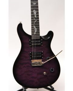 PRS SE Paul Allender Electric Guitar Purple Burst Quilt Top SN 9397