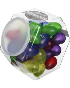Dunlop 9102 Gel Maracas 5 Colors. (Jar of 36)