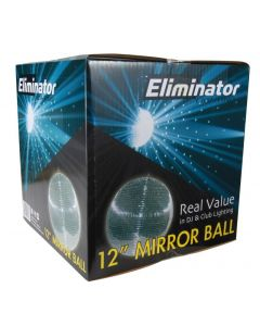 "Eliminator EM12 12"" Mirror Ball"
