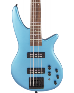 Jackson X Series Spectra Bass SBX V. Laurel FB, Electric Blue