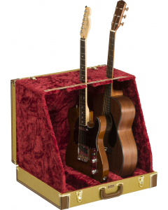 Fender Classic Series Case Stand. Tweed, 3 Guitar