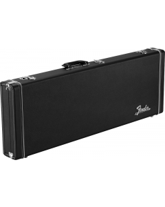Fender Classic Series Wood Case. Strat Tele, Black