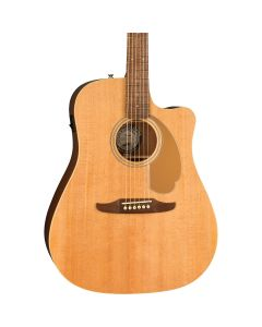 Fender California Redondo Player Acoustic-Electric Guitar Natural