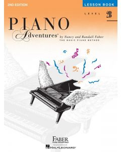 Piano Adventures Level 2B Lesson Book