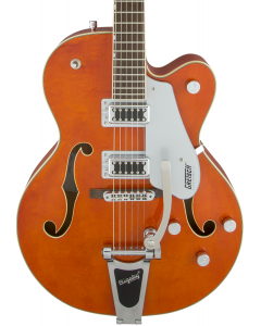 Gretsch G5420T Electromatic Hollow Body Single-Cut Electric Guitar with Bigsby. Orange Stain