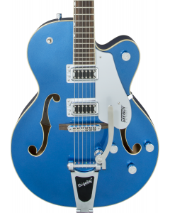 Gretsch G5420T Electromatic Hollow Body Single-Cut Electric Guitar with Bigsby. Fairlane Blue