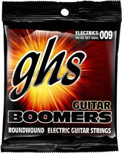GHS Strings GBXL Guitar Boomers Nickel-Plated Electric Guitar Strings Extra Light (9-42)