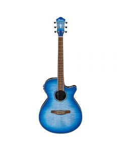 Ibanez AEG19IIOBB Acoustic-Electric Guitar Ocean Blue Burst
