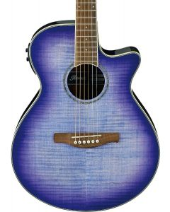Ibanez AEG19IIPIB Acoustic-Electric Guitar Purple Iris Burst