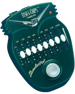 Danelectro DJ-14 Fish and Chips 7 Band EQ Pedal