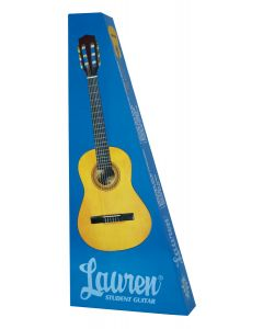 Lauren LA34 34in Steel String Acoustic Guitar. Natural