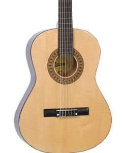 Lauren LA36N 34in Nylon String Acoustic Guitar. Natural