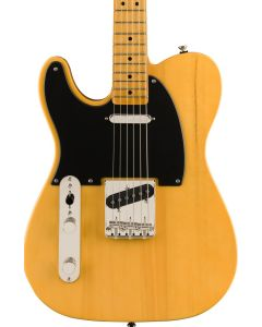 Squier Classic Vibe '50s Telecaster Left-Handed Electric Guitar. Maple FB, Butterscotch Blonde