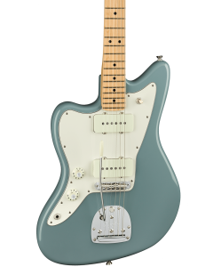 Fender American Pro Left-Handed Jazzmaster Electric Guitar. Maple FB, Sonic Gray