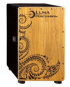 Luna Cajon with Bag. Black