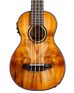 Breedlove Lu'au Concert Ukulele. Natural Shadow E Sitka-Myrtlewood