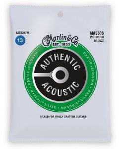 Martin MA550S Marquis Silked Phosphor Bronze Acoustic Strings 13-56