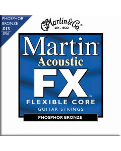 Martin MFX750 Flexible Core Phosphor Bronze Acoustic Guitar Strings, Medium