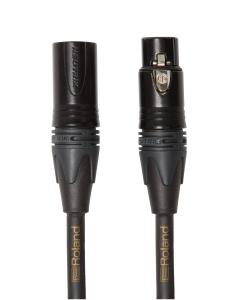 Roland RMCG25 Gold Series Microphone Cable 25'