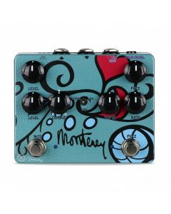 Keeley KMONT Monterey Rotary Fuzz Vibe Guitar Pedal