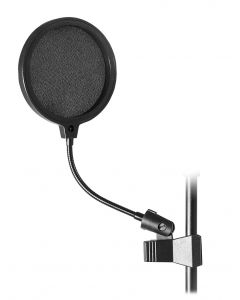 Stageline MPF6C 6 in. Pop Filter with Clamp