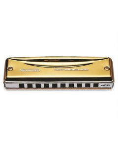 Suzuki MR-350VG-E Valved Gold Promaster Harmonica Key of E