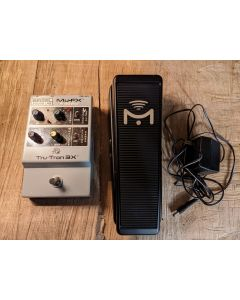 BeigelRARE!! Tru-Tron 3X with Expression Input. Mu-FX by Mike Beigel, Hand Signed with Mission Mu-XP1 Expression Pedal SN1319