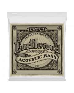 Ernie Ball 2070 Earthwood Phosphor Bronze Acoustic Bass Strings, .045 - .095