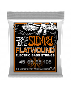 Ernie Ball 2813 Hybrid Slinky Flatwound Bass Strings, .045 - .105
