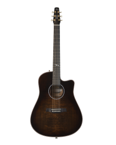 Seagull Artist Peppino Signature CW Acoustic Electric Guitar Bourbon Burst w/Anthem