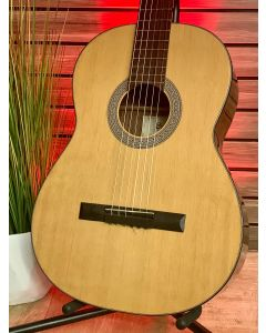 Cort AC 11m Nat Classical Guitar Natural with Hard Shell Case SN5833
