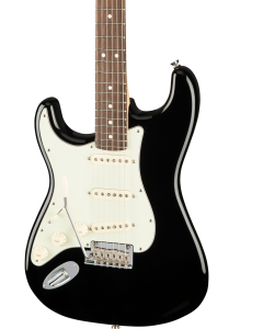 Fender American Pro Stratocaster Left-Hand Electric Guitar. Rosewood FB, Black
