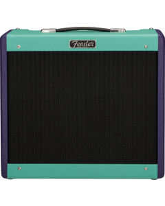 Fender 2020 Limited Edition Blues Junior IV, Eminence Cannabis Rex, Two-Tone Purple/Seafoam