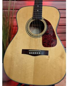 Fender GC23S Grand Concert Acoustic Guitar Natural, 2005. with Hard Case, Made in Korea. SN5505