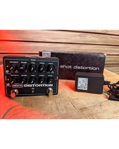 MXR M-151 Doubleshot Distortion with 18v Dunlop adaptor and Box SN7314