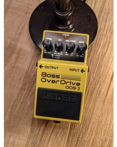 Boss ODB-3 Bass Overdrive Pedal, Store Demo! SN5813