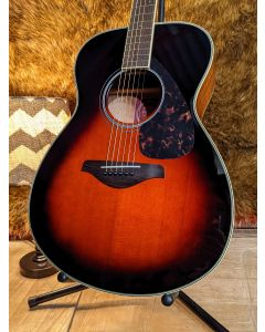 Yamaha FS720S TBS Folk Size  Acoustic Guitar with Gig Bag SN0133