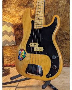 Fender  Vintage 1976 Precision Bass Natural with Hard Case. SN8847