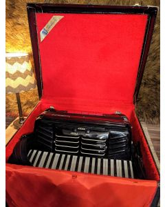 Panjet Model 45 Professional Accordion, Made in Italy. SN0604