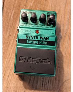 Digitech Synth Wah Envelope Filter Guitar Effects Pedal SN0630