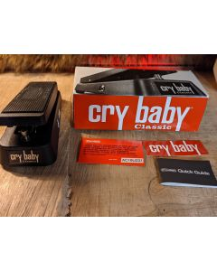 Dunlop  GCB95F Cry Baby Classic Wah Pedal w/ Retro Fasel Inductor. Like New Open Box SN3404