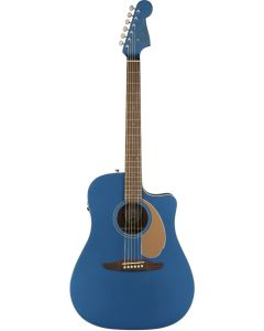Fender Redondo Player Acoustic/Electric Guitar Belmont Blue