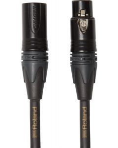 Roland Gold Series Microphone Cable 10 ft. Black RMC-G10