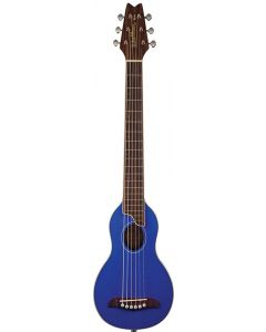 Washburn RO10STBLK Rover Acoustic Guitar W/ Gig Bag Trans Blue