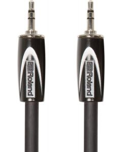 Roland RCC-10-3535 Black Series 3.5mm TRS-3.5mm TRS Balanced Interconnect Cable 10 ft. Black
