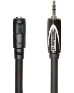 Roland RHC253535 Black Series 3.5mm TRS Male to Female Headphone Extension Cable 25'