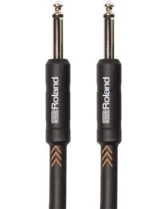 """Roland Black Series RIC-B10 1/4"""" Straight/Straight Instrument Cable 10 ft. Black"""