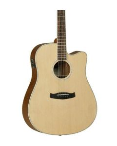 Tanglewood Discovery Acoustic Guitar Natural Open Pore Satin/Rosewood TGF11
