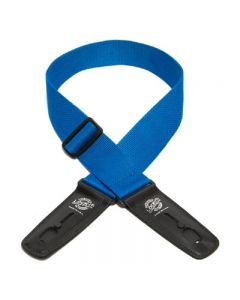 """Lock-It 2"""" Poly Patented Locking Technology Guitar Strap PACIFIC BLUE"""
